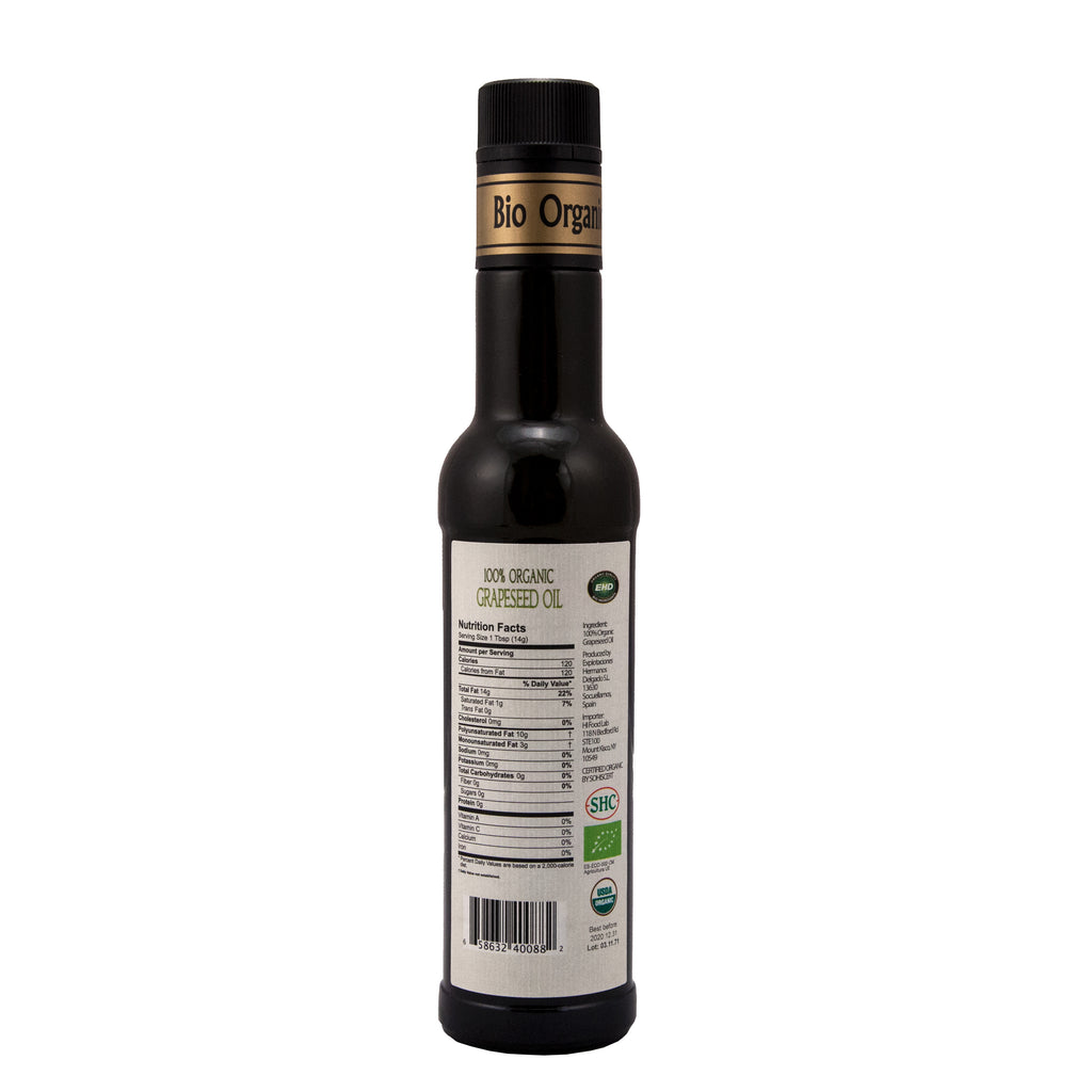 Organic Grapeseed Oil-250ml