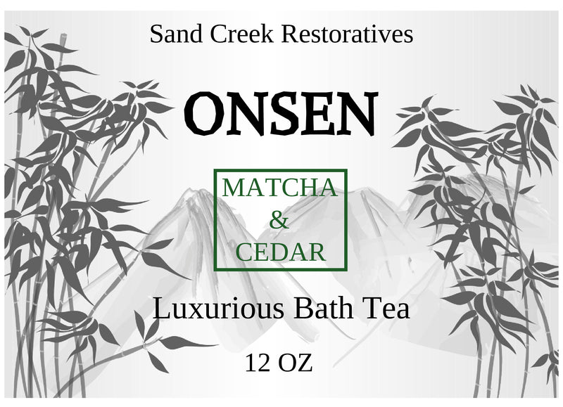New Onsen Bath Tea