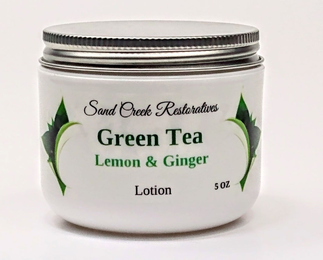 Green Tea, Lemon & Ginger Lotion