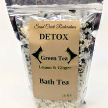 Load image into Gallery viewer, Green Tea, Lemon & Ginger Detox Bath Tea