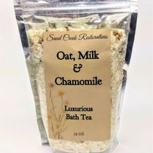 Load image into Gallery viewer, Oat, Milk and Chamomile Bath Tea