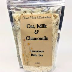 Oat, Milk and Chamomile Bath Tea