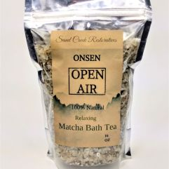 ONSEN Open Air Matcha Bath Tea