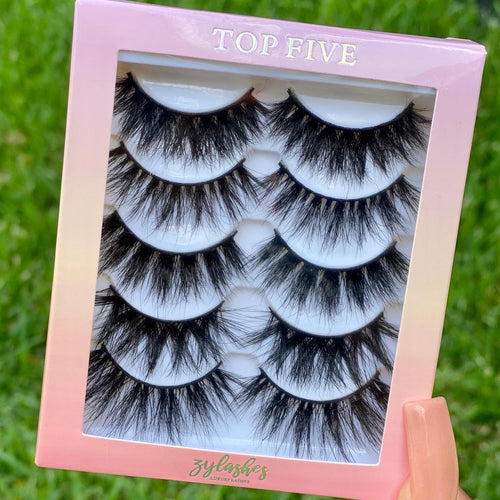 Top Five Lash Tray