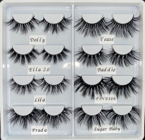 8 Pair Lash Set