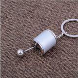 Six-speed Manual Transmission Shift Lever Keychain