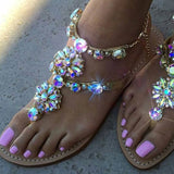 Rhinestones Crystal Woman Sandals