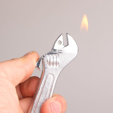 Creative Spanner Mini Cigarette  Keychain Lighter