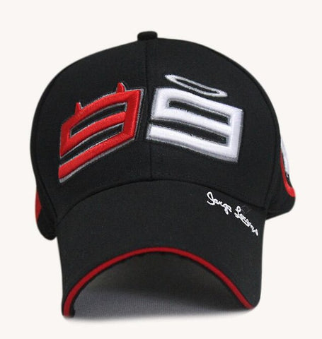 2018 Racing 99 Cap Jorge Lorenzo Cotton Motorcycle Cap