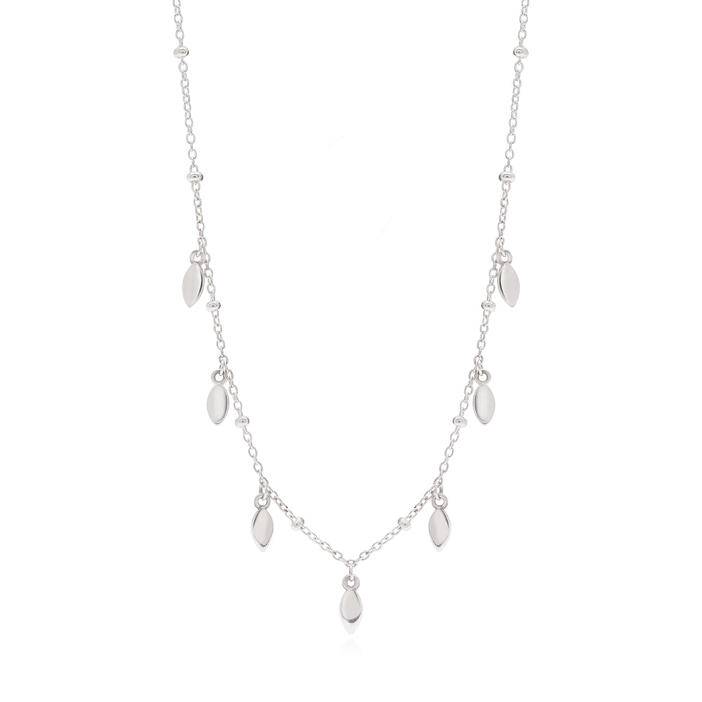 Amara Necklace Silver
