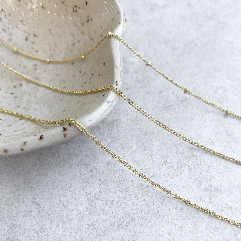 Gold Chains - Caja Jewellery