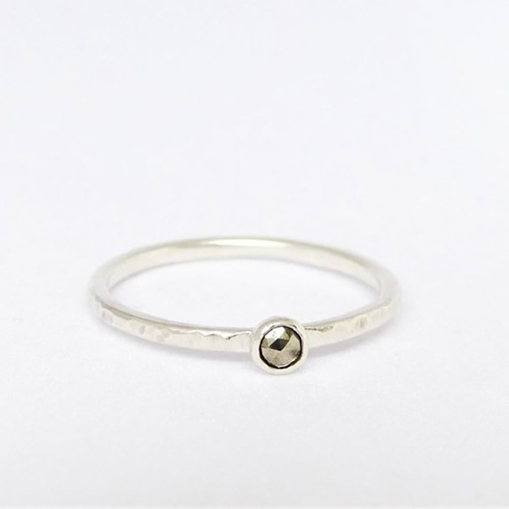 Indah Pyrite Ring - Caja Jewellery