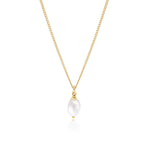 Margot Pearl Necklace Gold