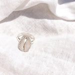 Pandawa Cowrie Shell Ring - Caja Jewellery