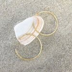 Wainui Hoops Gold - Caja Jewellery