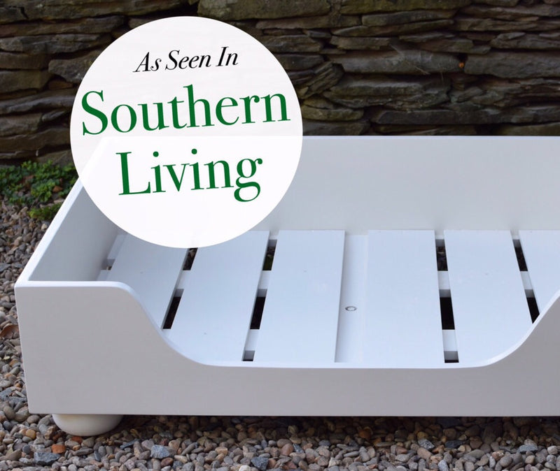 Wood Dog Bed - As Seen in Southern Living