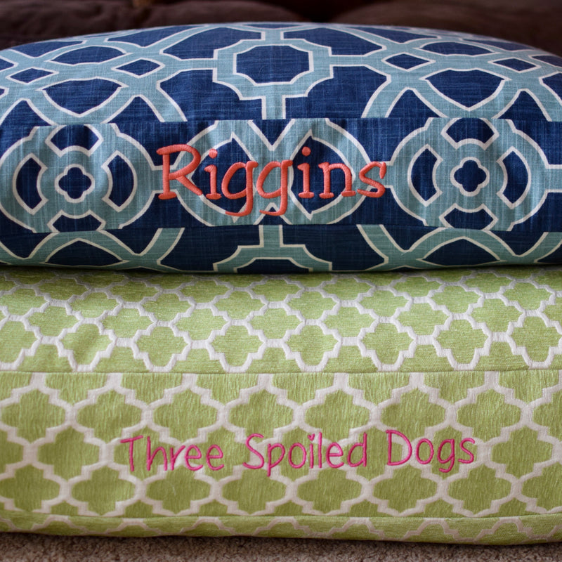 Boho Chic Dog Beds from our Trellis Collection