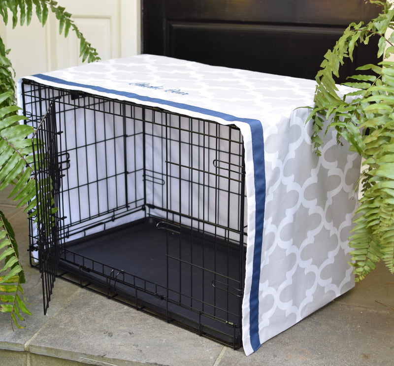 Modern Farmhouse Windowpane Crate Covers