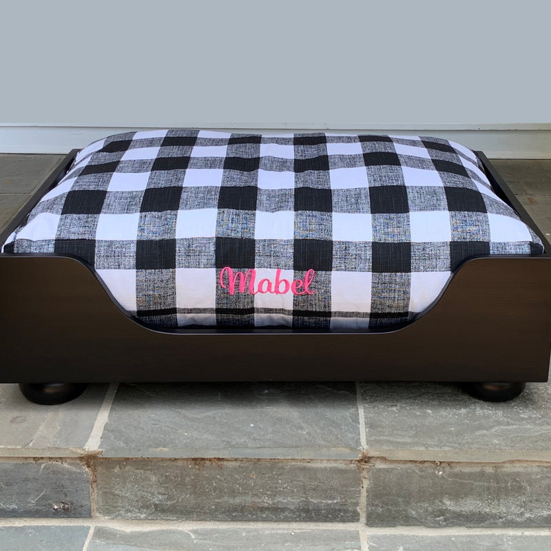 Farmhouse Buffalo Check Dog Beds