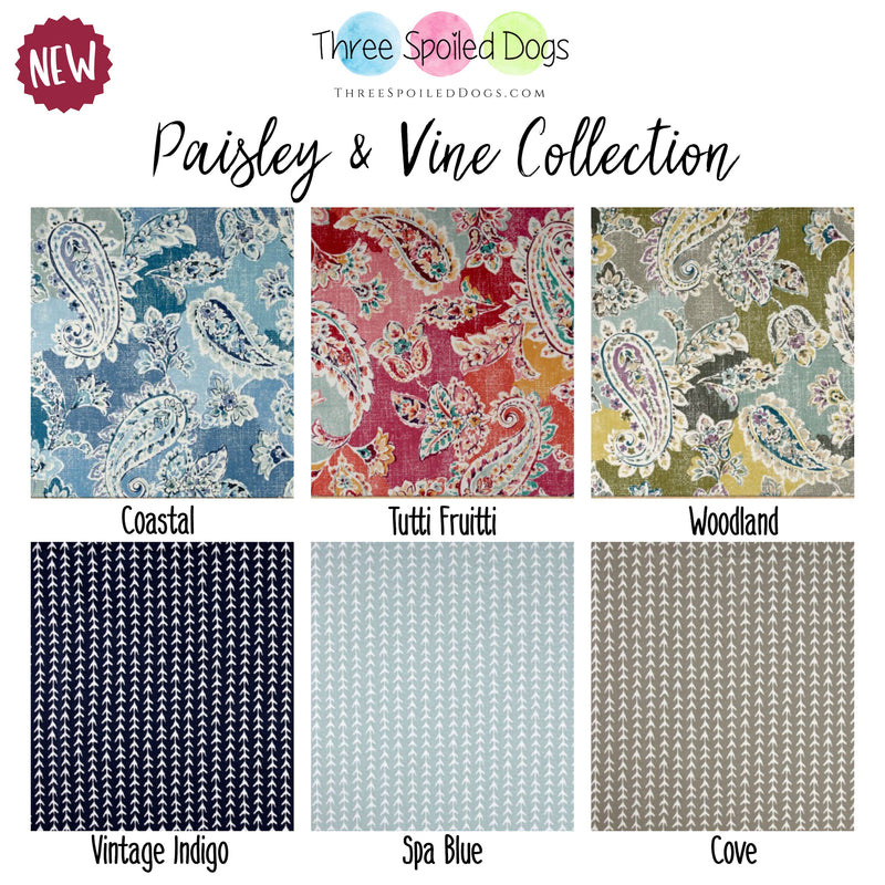 Paisley & Vine Dog Bed Collection