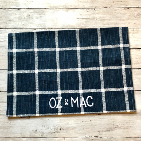 Personalized Pet Placemat from our Modern Farmhouse Collection