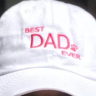 Dog Dad and other Cool Dad Baseball Caps