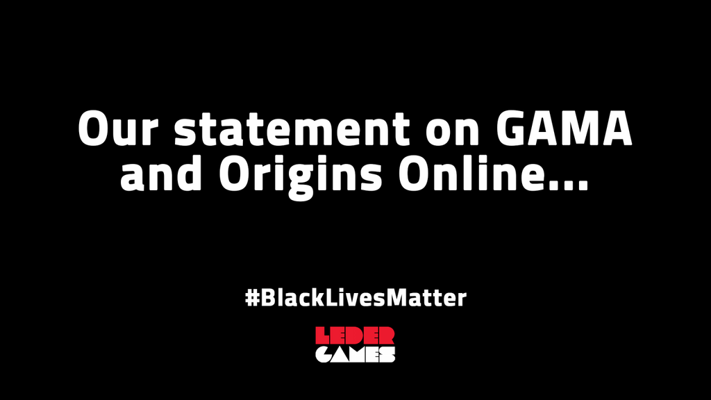 Our Statement on GAMA and Origins Online
