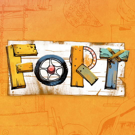 Fort: Building Forts and Following Friends