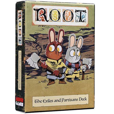 [PRE-ORDER] Root: The Exiles and Partisans Deck