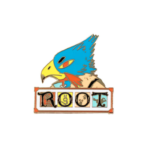 Eyrie Root Enamel Pin