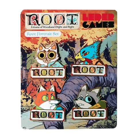 Root Portrait Pin Set