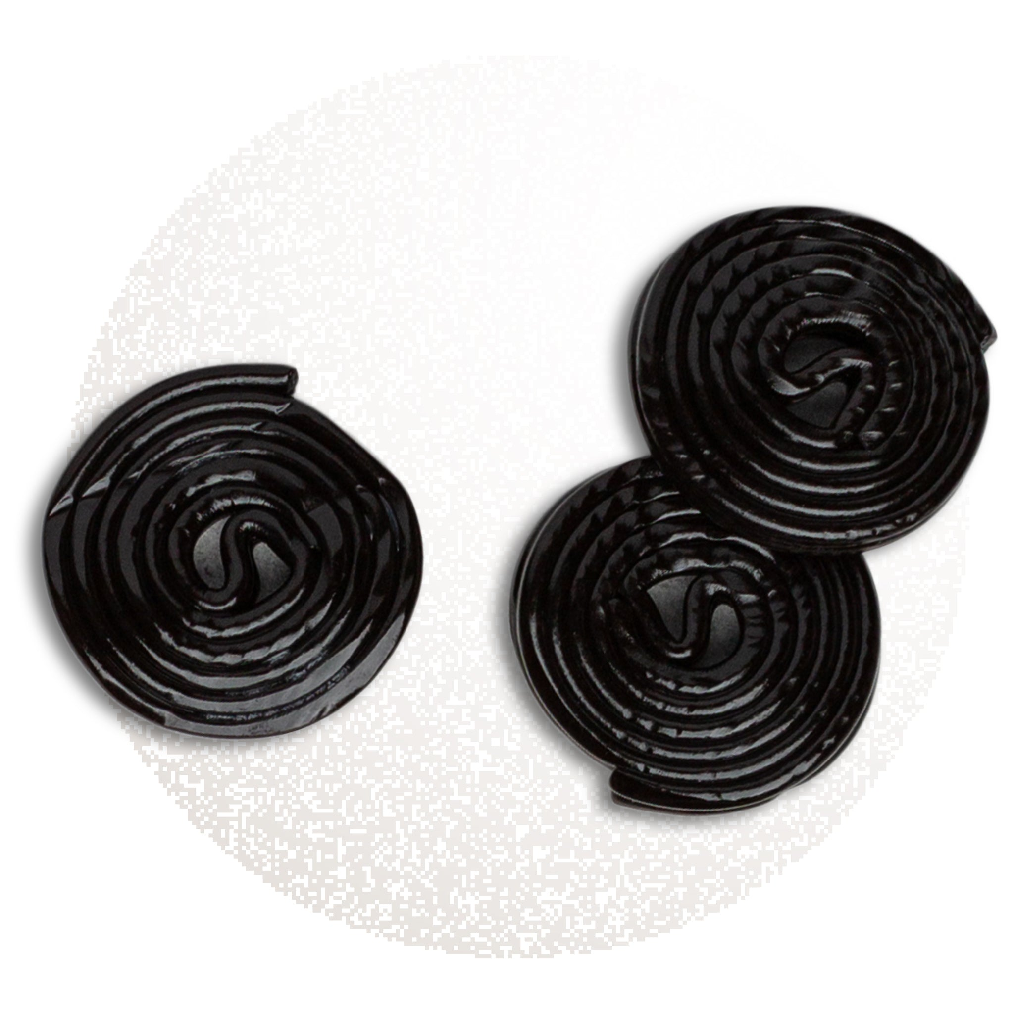 Black licorice rounds