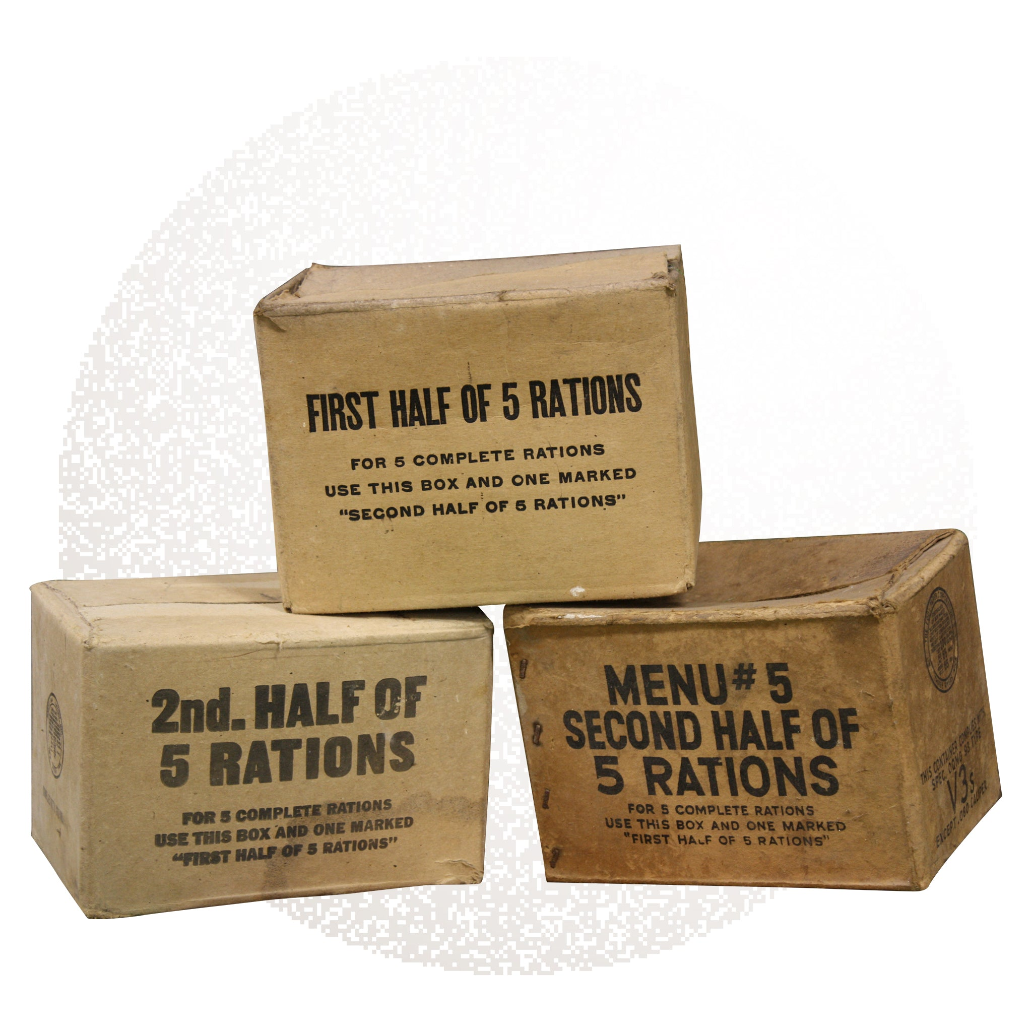Solider Ration boxes