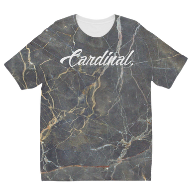 Marble Sublimation Kids T-Shirt