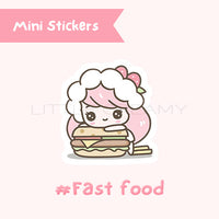 Burger Planner Sticker