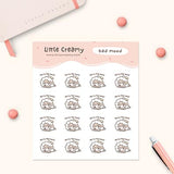 Bad Mood Planner Sticker