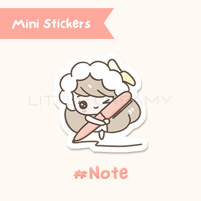 Take Note Planner Sticker