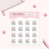 Pay Bills Planner Sticker