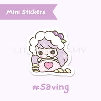 Saving Planner Sticker