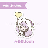 Balloon Planner Sticker