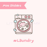 Washing Machine Planner Sticker