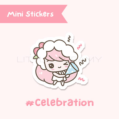 Celebration Planner Sticker