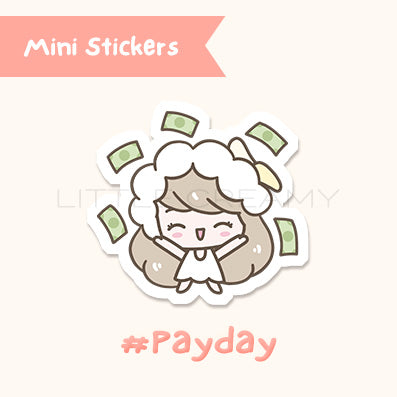 Payday Planner Sticker