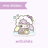 Dishes Planner Sticker