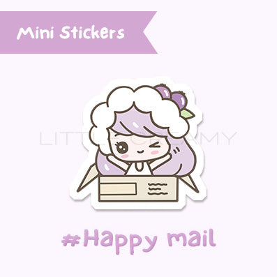 Happy Mail Planner Sticker