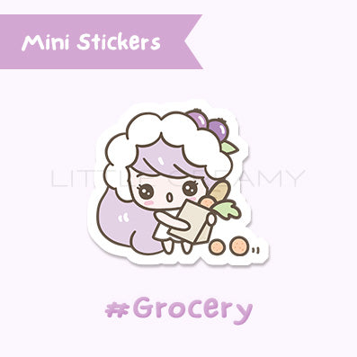 Grocery Planner Sticker