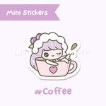 Coffee Planner Sticker