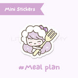 Meal Plan Planner Sticker