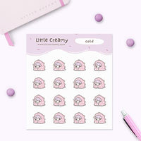 Cold Planner Sticker
