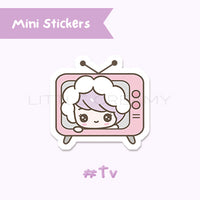TV Planner Sticker